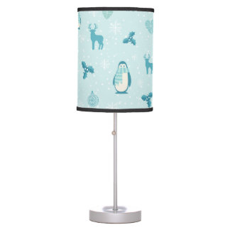 Merry Christmas bundles pattern - winter pattern Table Lamp