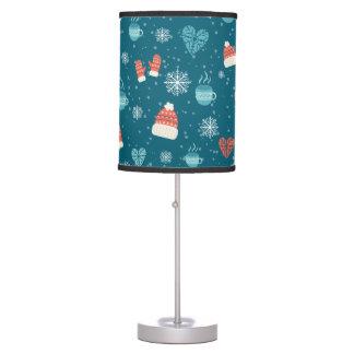 Merry Christmas bundles pattern - winter pattern Table Lamps