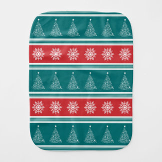 Merry Christmas Burp Cloth
