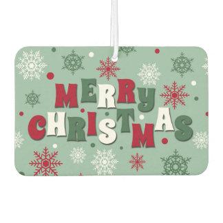 Merry Christmas Car Air Freshener