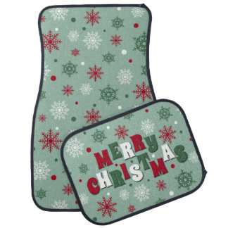 Merry Christmas Car Mat