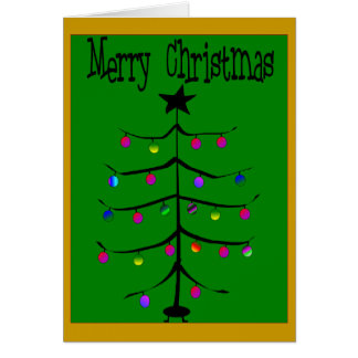 Merry Christmas Card--Funny/Mean Greeting Card