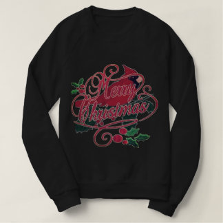 Merry Christmas Cardinal Sweatshirt