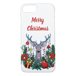 Merry Christmas Case with Christmas Deer