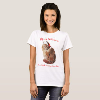 Merry Christmas Cat T-Shirt