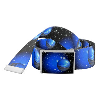 Merry Christmas celestial ornament customized Belt