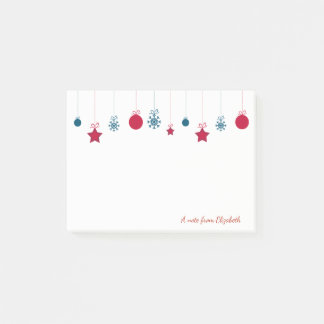 Merry Christmas,Christmas Balls-Personalized Post-it Notes