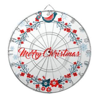 merry christmas christmas greeting dartboard