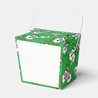 Merry Christmas, Christmas Santa Claus 4.0 Favor Box