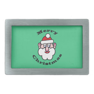 Merry Christmas, Christmas Santa Claus Belt Buckles