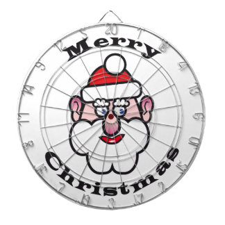 Merry Christmas, Christmas Santa Claus Dartboard