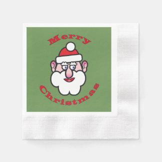Merry Christmas, Christmas Santa Claus Disposable Napkins
