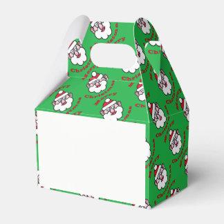 Merry Christmas, Christmas Santa Claus Favor Box