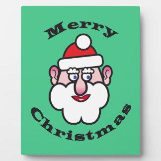 Merry Christmas, Christmas Santa Claus Plaque