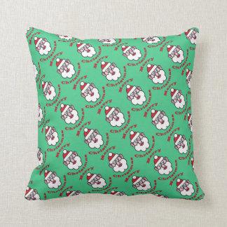 Merry Christmas, Christmas Santa Claus Throw Pillow