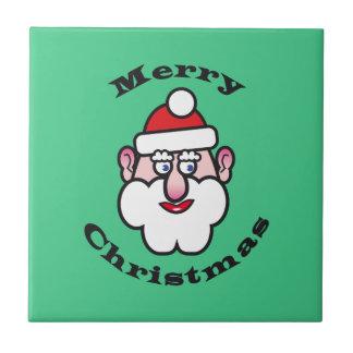 Merry Christmas, Christmas Santa Claus Tile
