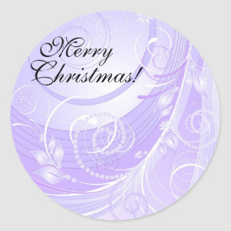 Merry Christmas! Classic Round Sticker