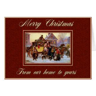 Merry Christmas Coach Card