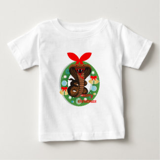 merry christmas cobra snake baby T-Shirt