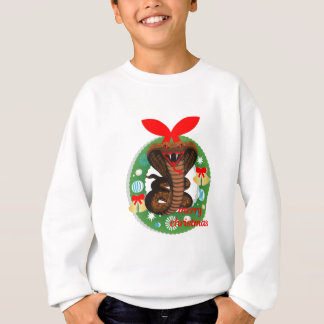 merry christmas cobra snake sweatshirt