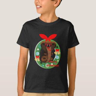 merry christmas cobra snake T-Shirt