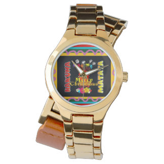 Merry Christmas Colorful personalized happy moment Watch