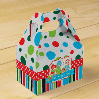 Merry Christmas Cookie Gable box