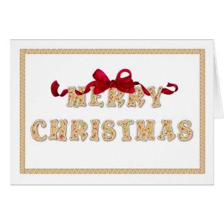 Merry Christmas, Cookies Greeting Card