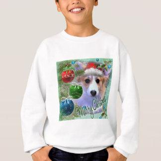 Merry Christmas Corgi Puppy Sweatshirt