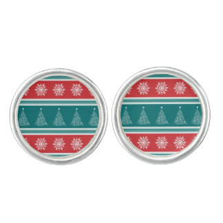 Merry Christmas Cuff Links