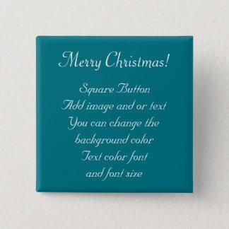 Merry Christmas Custom Button by Bonhovey #3