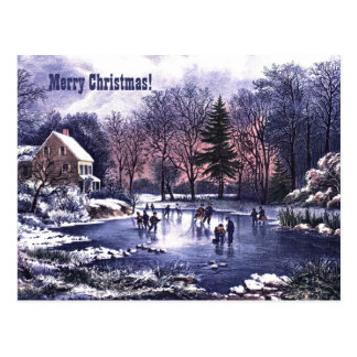Merry Christmas. Customizable Christmas Cards Postcard