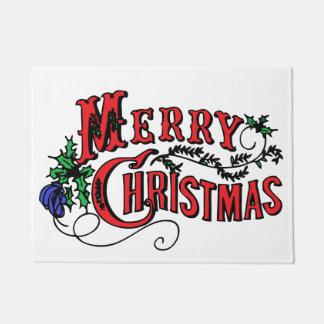 Merry Christmas Customizable Doormat