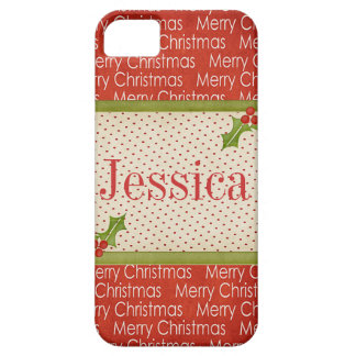 Merry Christmas customizable iphone 5 cover