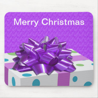 Merry Christmas Customizable Mouse Pad