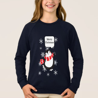Merry Christmas Cute Penguins Shirt