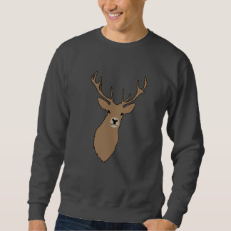 Merry Christmas Cyril The Stag Men's Sweat Shirt