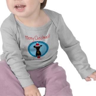 Merry Christmas Dachshund T Shirt