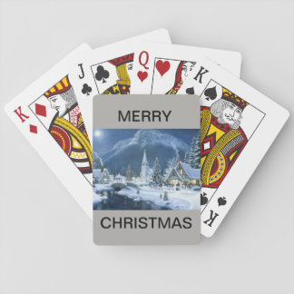 Merry Christmas Deck of Playing Cards