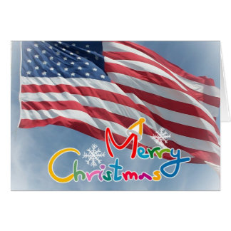 Merry Christmas Deployed Holiday Card