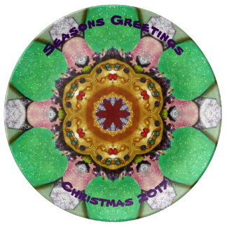 ~ Merry Christmas Design ~ Plate
