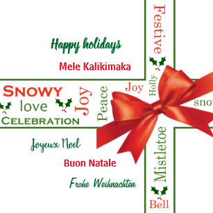 Merry Christmas Different Languages.Merry Christmas In Different Languages Gifts On Zazzle Ca