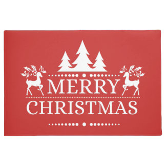 Merry Christmas Door Mat