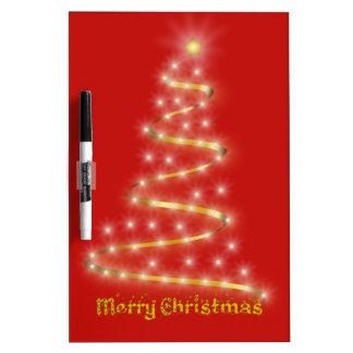 Merry Christmas Dry Erase Board