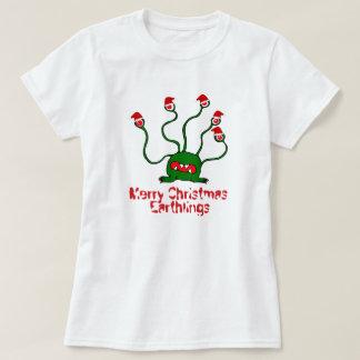 Merry Christmas Earthlings T-Shirt