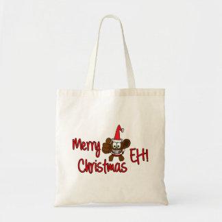 Merry Christmas Eh! Beaver Tote Bag
