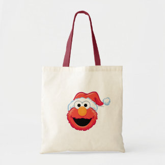 Merry Christmas Elmo Tote Bag