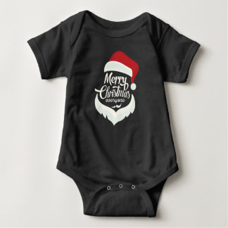 Merry Christmas Everyone Baby Bodysuit
