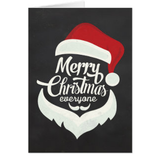 Merry Christmas Everyone Card