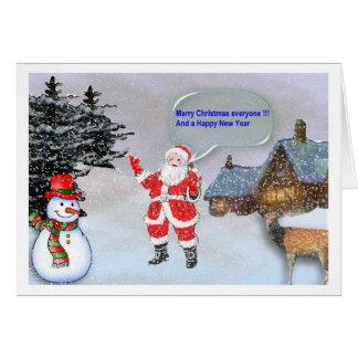 Merry Christmas everyone Card